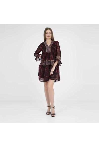 Crep Elbise Kadın Elbise 4219436
