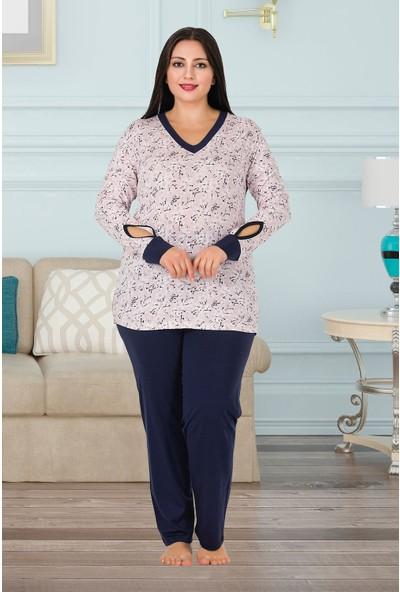Lady Büyük Beden Pijama Takımı 150