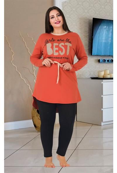 Lady Büyük Beden Pijama Takımı 163