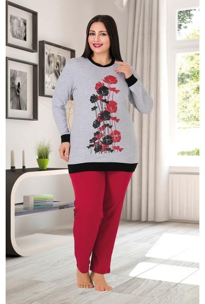 Lady Büyük Beden Pijama Takımı 165