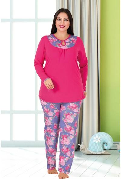 Lady Büyük Beden Pijama Takımı 179
