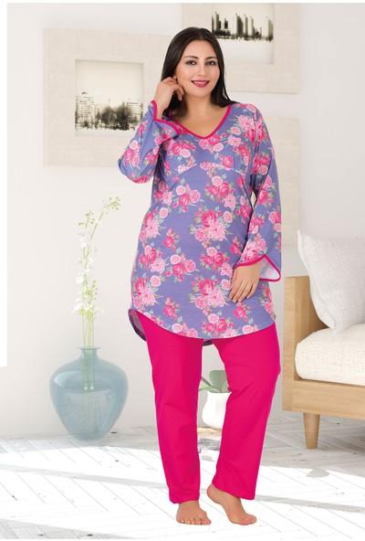 Lady Büyük Beden Pijama Takımı 180