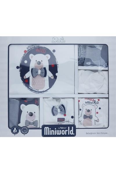 Miniworld Erkek Bebek Hastane Çıkışı 10 Lu Zıbın Seti Laci 14396