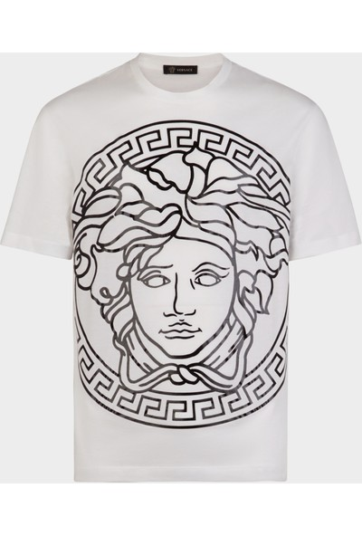 Guice Paris Versace Medusa Head Embossed Model Kadın T-Shirt
