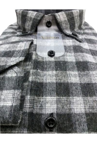 Varetta Büyük Beden Kışlık Erkek Gömlek