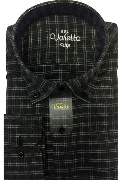 Varetta Battal Beden Kışlık Yün Gömlek