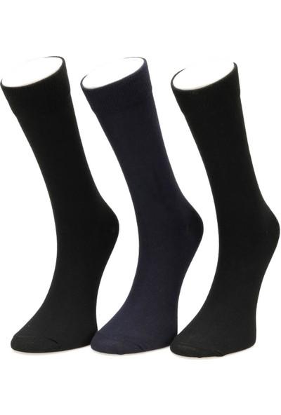 Garamond Basic 3Lu Skt-M Siyah Multi Erkek Çorap