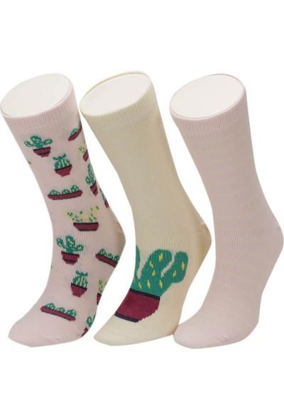 I Cool Kakt Pembe Mult Kız Çocuk Soket Çorap