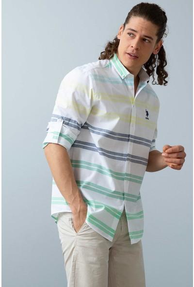 U.S. Polo Assn. Dokuma Gömlek 50199364-Vr033