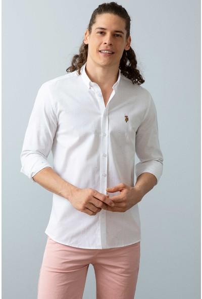 U.S. Polo Assn. Dokuma Gömlek 50199753-Vr013