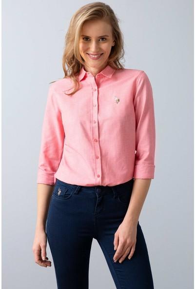 U.S. Polo Assn. Dokuma Gömlek 50201568-Vr041