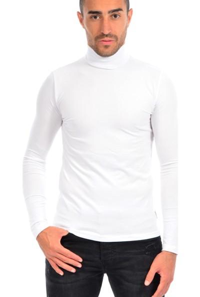 Dies Erkek Tam Balıkçı Sweatshirt