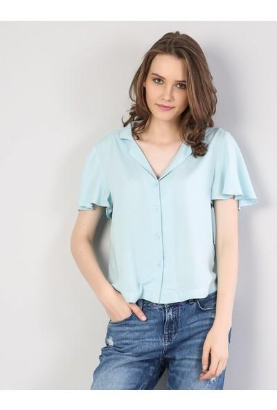 Colin'S Kadın Gömlek Kısa Kol