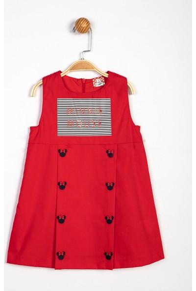 Disney Minnie Mouse Çocuk Elbise 13977