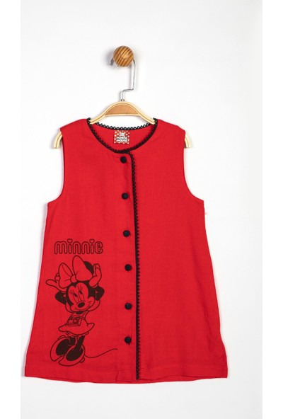 Disney Minnie Mouse Çocuk Elbise 13966