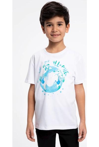 DeFacto Erkek Çocuk Baskılı Kısa Kollu Tişört K4281A619SP