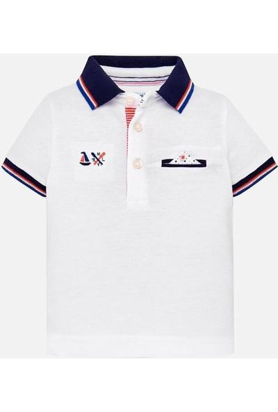 Mayoral Yazlık Erkek Bebek Polo Yaka Kısa Kol T-Shirt 1117