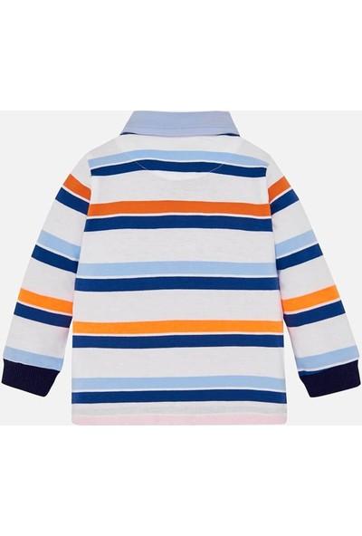 Mayoral Yazlık Erkek Bebek Polo Yaka Uzun Kol T-Shirt 1125