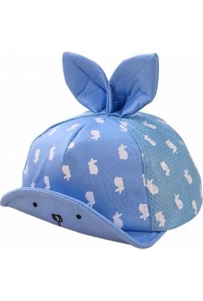 2Mstore İlkbahar/Yaz Bebek Şapka Mavi