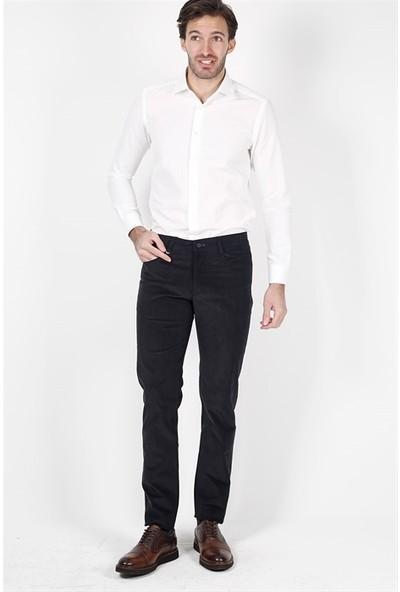 Jakamen Düz Dar Kalıp - Slim Fit Siyah Spor Pantolon