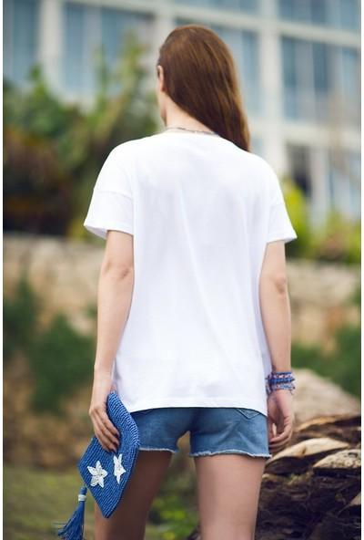 My Summer Blue Nazar T-Shirt