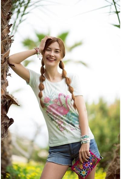 My Summer Blue Flamingo T-Shirt