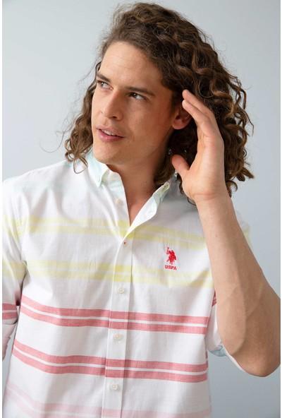 U.S. Polo Assn. Dokuma Gömlek 50199364-Vr039