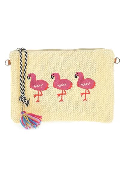 David Jones Kadın Askılı Çanta Flamingo