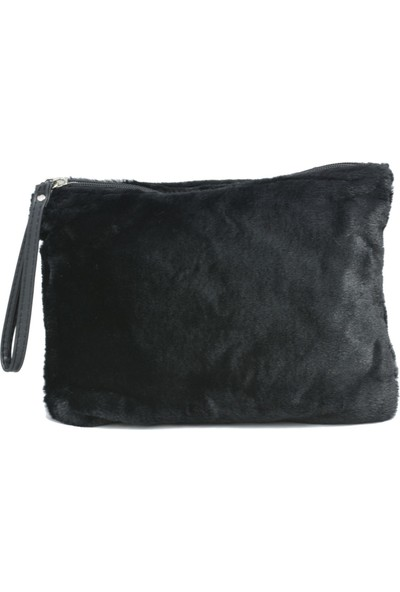 David Jones Kadın Cluch Çanta Siyah