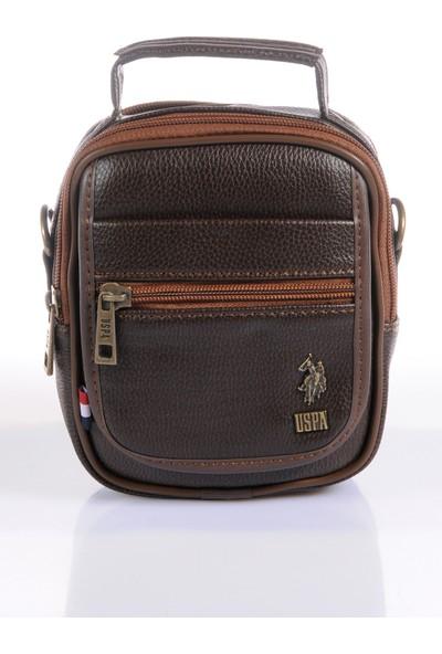 U.S. Polo Assn. Çapraz Çanta Plevr8416 Kahverengi