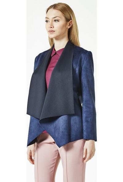 Soral Kadın Sonbaharlık Süet Ceket