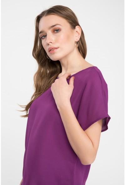 Defacto Kadın Krep Bluz