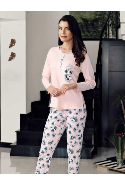 Şahinler Alt Desenli Pijama Takımı MBP23715-1