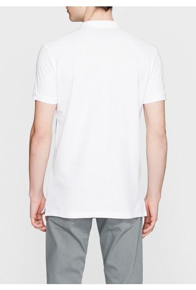 Mavi Beyaz Polo T-Shirt