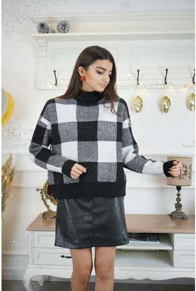 Bade Butik Siyah Beli Bağlamalı Mini Etek