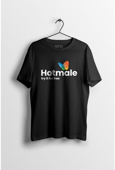 Tshigo Erkek Hotmale Baskılı Tshirt