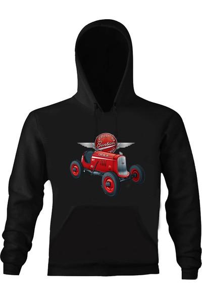 Art T-Shirt American Bantam Unisex Kapüşonlu Sweathirt