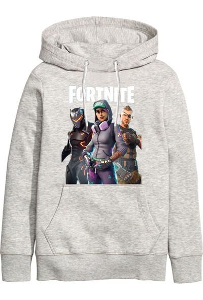 Art T-Shirt Fortnite Gamer Kapüşonlu Sweatshirt