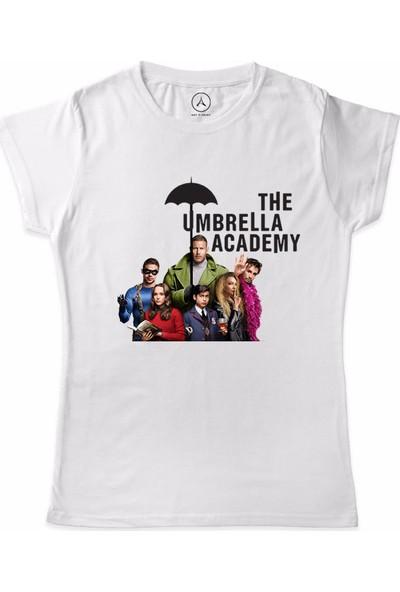 Art T-Shirt The Umbrella Academy Kadın T-Shirt