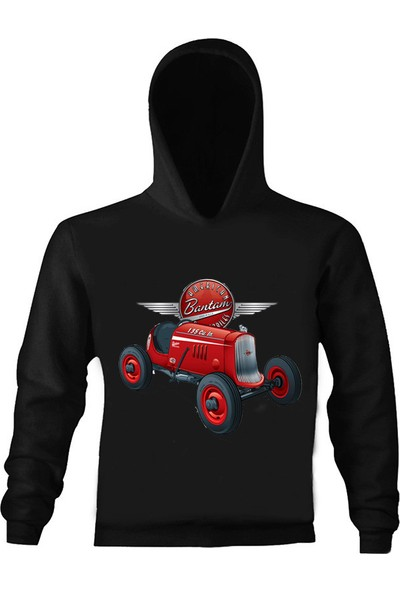 Art T-Shirt American Bantam Kapüşonlu Çocuk Sweatshirt