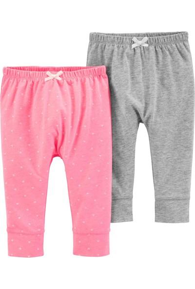 Carter's Layette Kız Bebek 2'li Pantolon 16640111