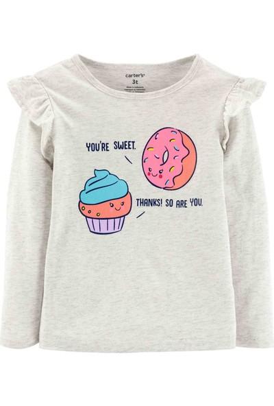 Carter's Küçük Kız Çocuk T-Shirt - Pw 253I114