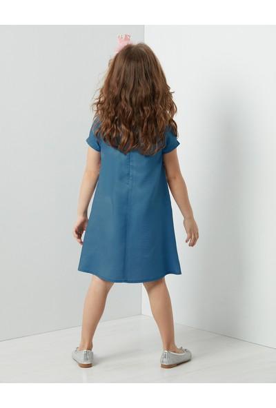 Denokids Sarmal Kedi Elbise