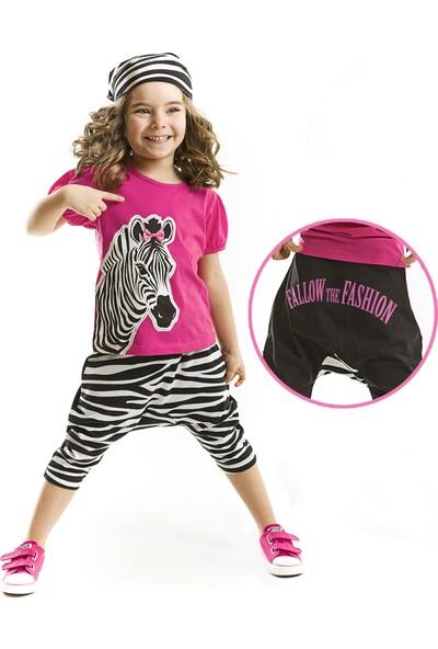 Denokids Zebra Fashion Baggy Takım