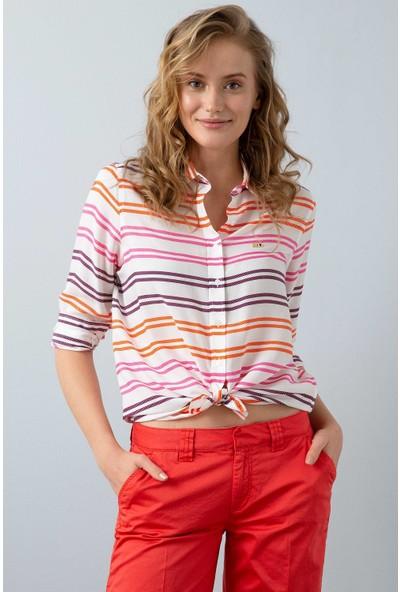U.S. Polo Assn. Kadın Dokuma Gömlek 50199603-Vr023