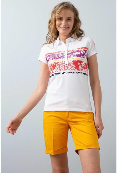 U.S. Polo Assn. Kadın T-Shirt 50202774-Vr039