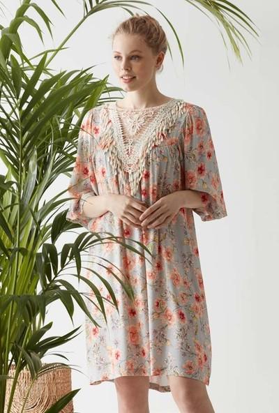 Catherine's 1437 Kadın Fakir Kol Elbise