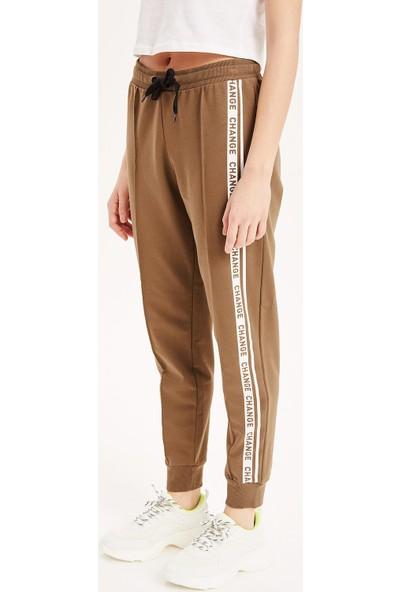 Defacto Kadın Şerit Detaylı Jogger Pantolon
