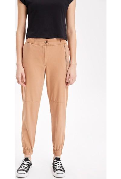 Defacto Kadın Zincir Detaylı Pantolon