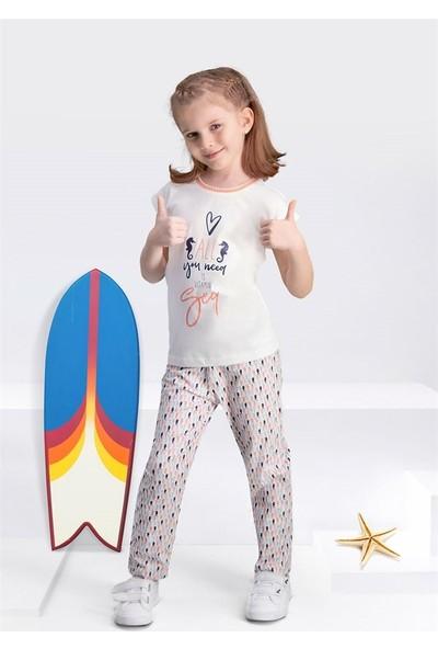Arnetta Kız Çocuk 2Li Pijama Takım Kısa Kollu